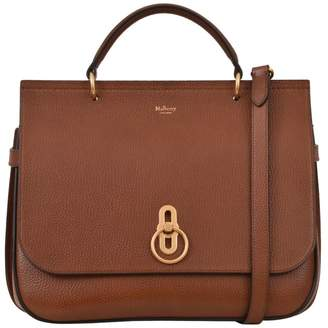 Mulberry Brown Amberley Crossbody Bag