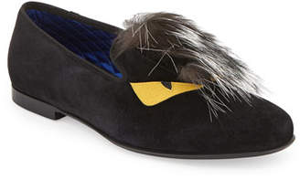 bcb17145d81 Fendi Monster Fur Evening Slipper