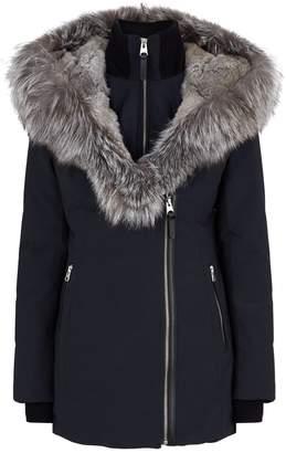Mackage Fur-Trim Down Jacket