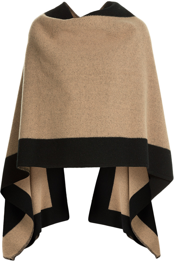 Burberry Shoes & Accessories Wool-Cashmere Cape