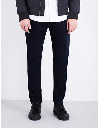 J Brand Tyler slim-fit tapered stretch-denim jeans