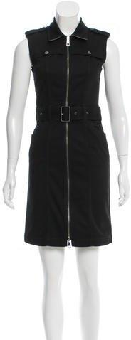 Burberry Burberry Brit Sleeveless Denim Dress