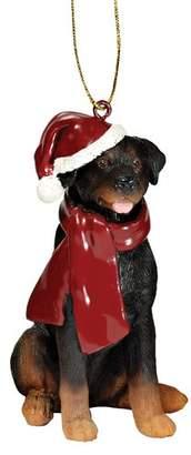 Toscano Design Rottweiler Holiday Dog Ornament Sculpture