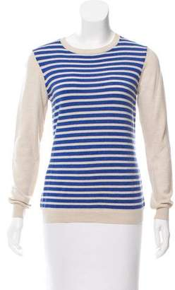 Gryphon Striped Wool Sweater