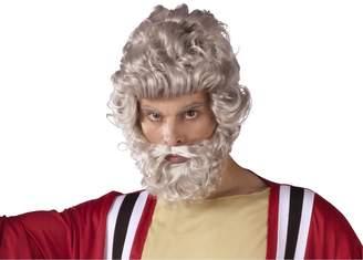 Fun World Costumes Fun World Moses Wig And Beard Set Accessory,