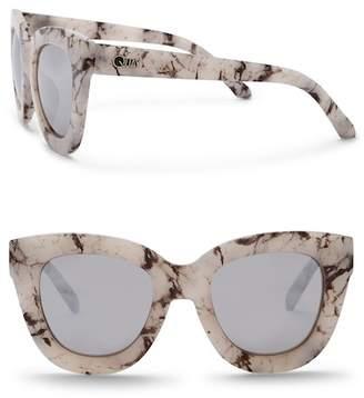 Quay Sugar & Spice 60mm Cat Eye Sunglasses