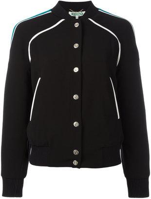 Kenzo Paradise bomber jacket $625 thestylecure.com