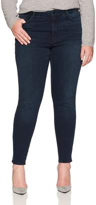 NYDJ Women's Plus Size Ami Skinny Legging with Studs in Future Fit Denim