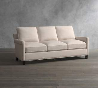 Pottery Barn Tyler Upholstered Roll Arm Sofa Collection