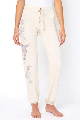 PJ Salvage Lazy Days Drawstring Waist Jogger