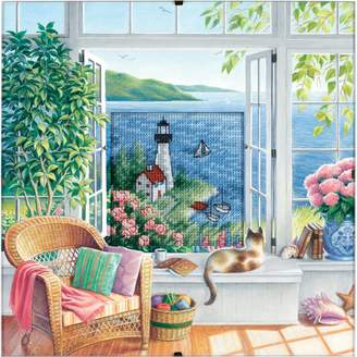 Dimensions Needlecrafts Counted Cross Stitch, Beach Tranquility