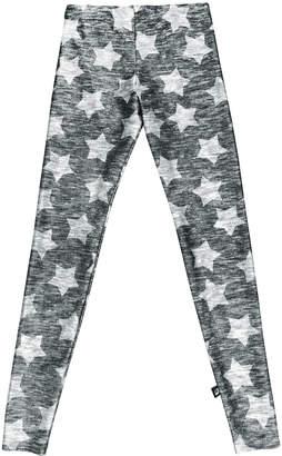 Terez Heathered Star-Print Leggings, Size 7-16