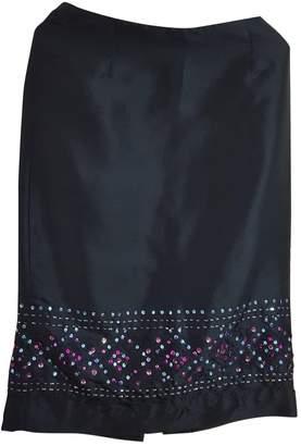 Ann Taylor Black Silk Skirt for Women