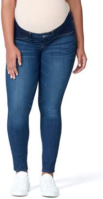 Good American Good Mama The Honeymoon Low Rise Maternity Skinny Jeans