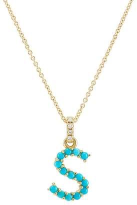 """Jennifer Meyer Women's """"S"""" Pendant Necklace"""