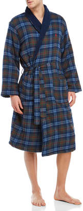 Original Penguin Flannel Fleece Robe