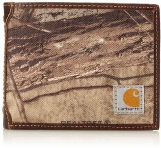 Carhartt Men's Camo Canvas Passcase Wallet