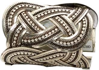 Etro Silver Metal Bracelets
