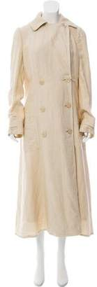 Ralph Lauren Linen Trench Coat w/ Tags