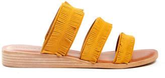 Lucky Brand Yellow Hegen Sandal