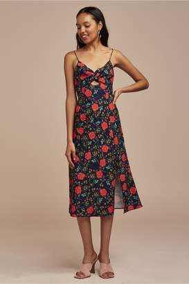 Finders Keepers HANA DRESS navy floral