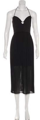 Nicholas Pleated Midi Dress w/ Tags