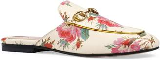 Gucci Princetown Floral Loafer Mule