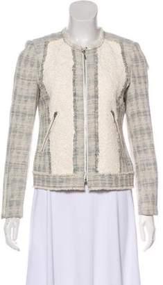 Rebecca Taylor Tweed Lace Jacket