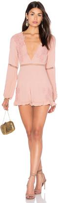 For Love & Lemons Lilou Floral Romper $215 thestylecure.com