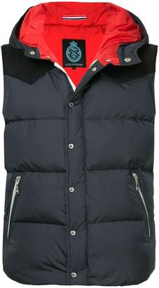GUILD PRIME hooded padded gilet