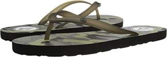 Volcom Women's Rocking 3 Graphic Printed Sandal FLIP Flop