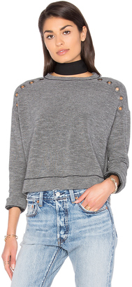Michael Stars Grommets Pullover $128 thestylecure.com