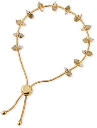 Tai Labradorite & Cubic Zirconia Slider Bracelet