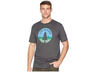 Life is Good Simple Pine Cool T-Shirt