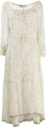 Schumacher Dorothee pastel floral dress