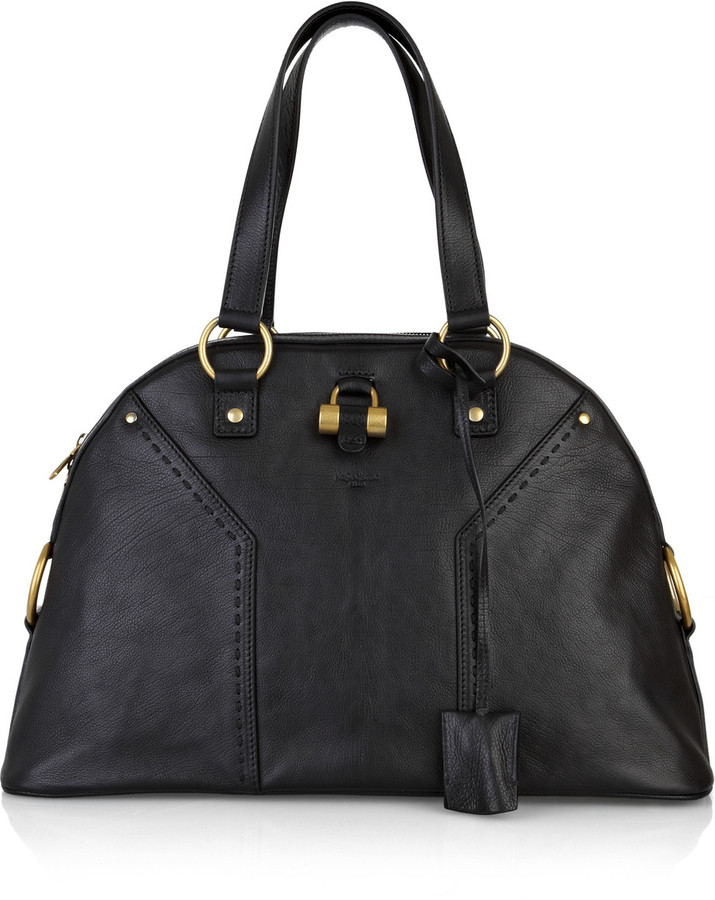 Yves Saint Laurent Muse large leather tote