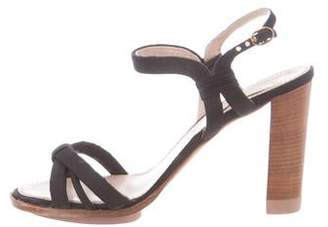 Nina Ricci Canvas Mutlistrap Sandals