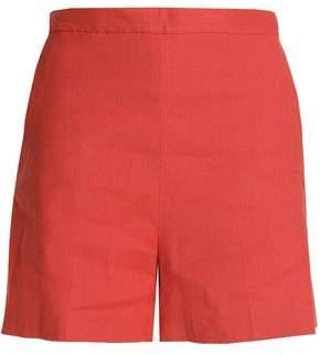Theory Tarrytown Linen-Blend Shorts