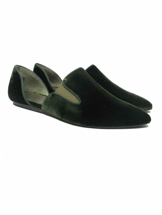 Jenni Kayne Velvet Evening Slipper