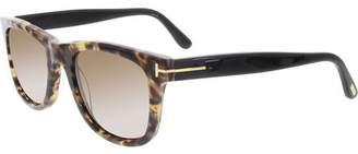 Tom Ford Leo FT0336 Men's Rectangular Sunglasses