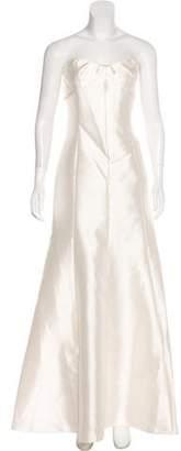 Lela Rose Strapless Evening Dress w/ Tags