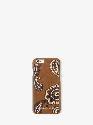Michael Kors Jet Set Travel Leather Phone Case For Iphone 6/6s