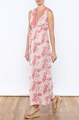 Kerry Cassill Sleeveless Maxi Dress