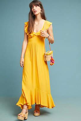 Larke Belle Ruffled Maxi Dress