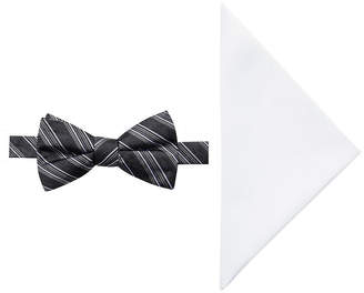 COLLECTION Collection by Michael Strahan Stripe Bow Tie Set