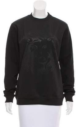 Versus Long Sleeve Logo Sweatshirt