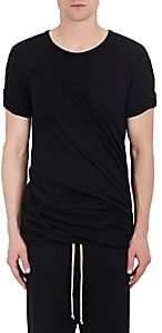 Rick Owens Men's Double-Layered Cotton Jersey T-Shirt - Black