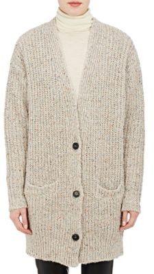 Isabel Marant Étoile Women's Oversized Hamilton Cardigan-BEIGE $530 thestylecure.com