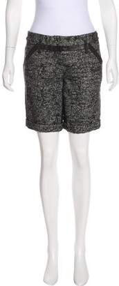 Proenza Schouler Tweed Knee-Length Shorts
