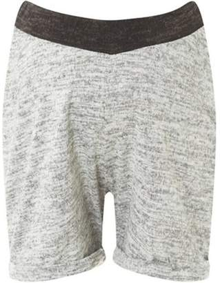 Dorothy Perkins Womens **Maternity Grey Brushed Shorts
